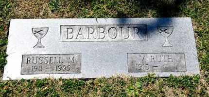 BARBOUR, V RUTH - Richland County, Ohio | V RUTH BARBOUR - Ohio Gravestone Photos