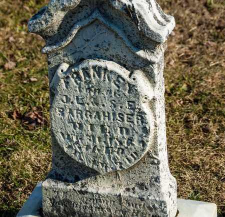 BARGAHISER, FRANK E - Richland County, Ohio | FRANK E BARGAHISER - Ohio Gravestone Photos