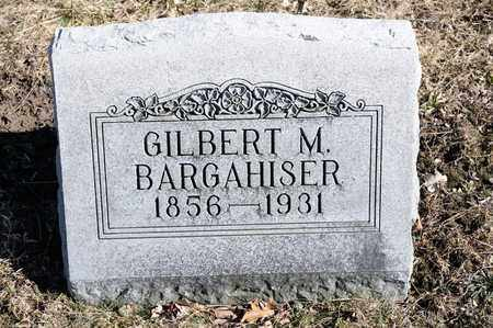 BARGAHISER, GILBERT M - Richland County, Ohio | GILBERT M BARGAHISER - Ohio Gravestone Photos