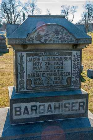 BARGAHISER, JACOB L - Richland County, Ohio | JACOB L BARGAHISER - Ohio Gravestone Photos