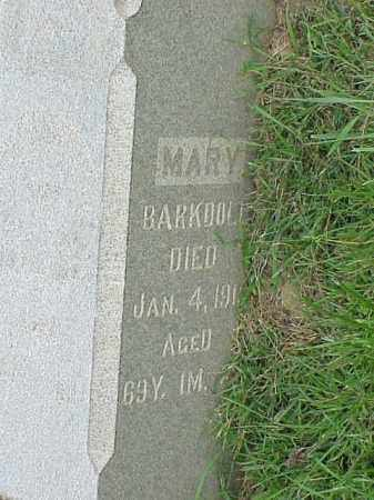 BARKDOLL, MARY - Richland County, Ohio | MARY BARKDOLL - Ohio Gravestone Photos