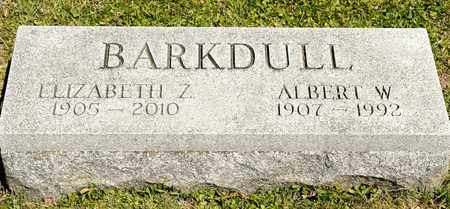 BARKDULL, ALBERT W - Richland County, Ohio | ALBERT W BARKDULL - Ohio Gravestone Photos