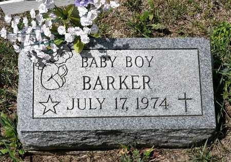 BARKER, BABY BOY - Richland County, Ohio | BABY BOY BARKER - Ohio Gravestone Photos