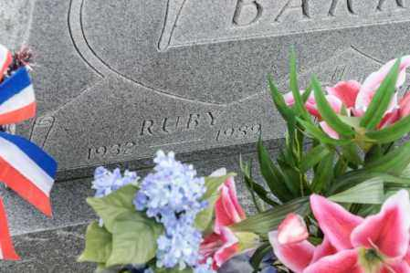 BARKER, RUBY - Richland County, Ohio   RUBY BARKER - Ohio Gravestone Photos