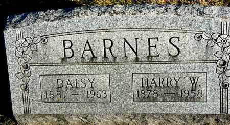 BARNES, HARRY W - Richland County, Ohio | HARRY W BARNES - Ohio Gravestone Photos