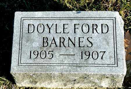 BARNES, DOYLE FORD - Richland County, Ohio | DOYLE FORD BARNES - Ohio Gravestone Photos