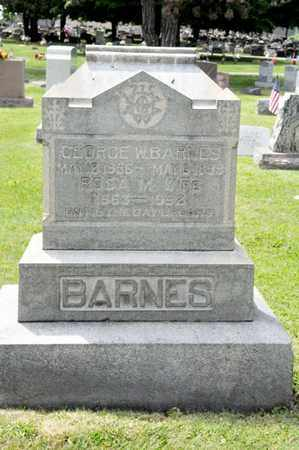BARNES, GEORGE W - Richland County, Ohio | GEORGE W BARNES - Ohio Gravestone Photos
