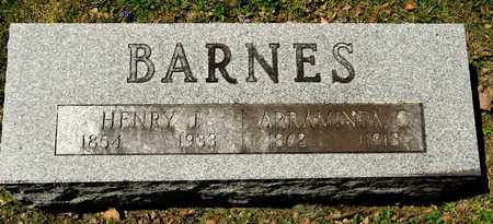 BARNES, ARRAMINTA C - Richland County, Ohio | ARRAMINTA C BARNES - Ohio Gravestone Photos