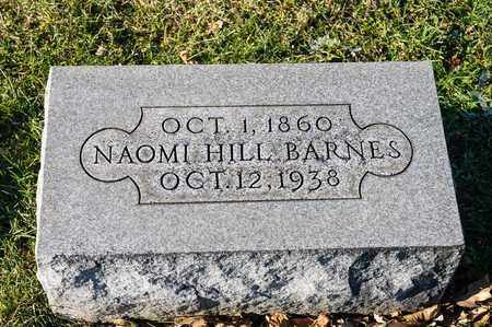 HILL BARNES, NAOMI - Richland County, Ohio | NAOMI HILL BARNES - Ohio Gravestone Photos