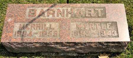 BARNHART, MERRILL - Richland County, Ohio | MERRILL BARNHART - Ohio Gravestone Photos