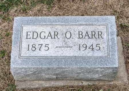 BARR, EDGAR O - Richland County, Ohio | EDGAR O BARR - Ohio Gravestone Photos