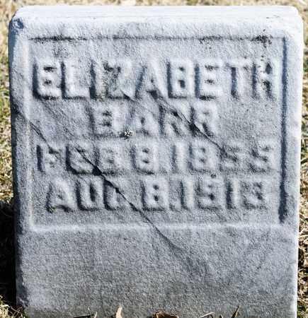 BARR, ELIZABETH - Richland County, Ohio | ELIZABETH BARR - Ohio Gravestone Photos