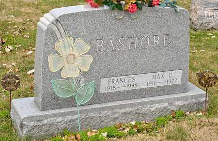 BASHORE, FRANCES - Richland County, Ohio | FRANCES BASHORE - Ohio Gravestone Photos