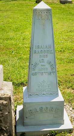 BASHORE, ISAIAH - Richland County, Ohio | ISAIAH BASHORE - Ohio Gravestone Photos