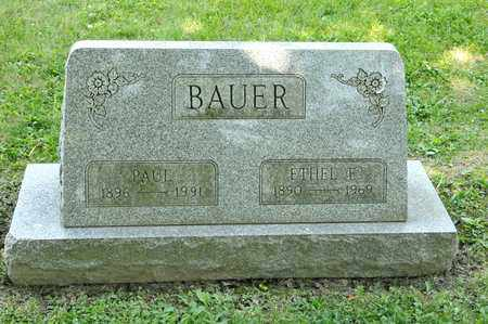 BAUER, PAUL - Richland County, Ohio | PAUL BAUER - Ohio Gravestone Photos