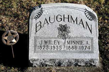 BAUGHMAN, MINNIE A - Richland County, Ohio | MINNIE A BAUGHMAN - Ohio Gravestone Photos