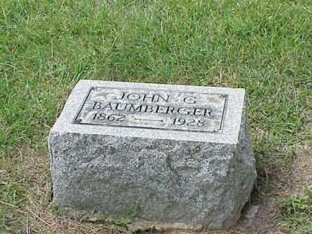 BAUMBERGER, JOHN G. - Richland County, Ohio | JOHN G. BAUMBERGER - Ohio Gravestone Photos