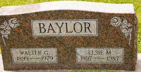 BAYLOR, ELSIE M - Richland County, Ohio | ELSIE M BAYLOR - Ohio Gravestone Photos
