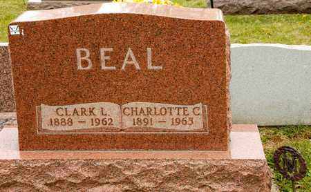 BEAL, CLARK L - Richland County, Ohio | CLARK L BEAL - Ohio Gravestone Photos