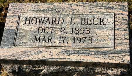 BECK, HOWARD L - Richland County, Ohio | HOWARD L BECK - Ohio Gravestone Photos
