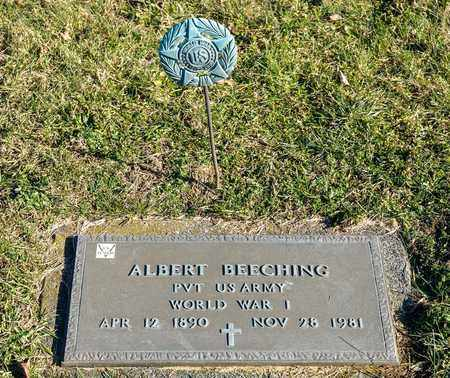 BEECHING, ALBERT - Richland County, Ohio | ALBERT BEECHING - Ohio Gravestone Photos