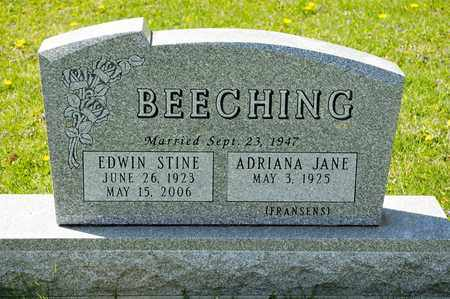 BEECHING, EDWIN STINE - Richland County, Ohio | EDWIN STINE BEECHING - Ohio Gravestone Photos