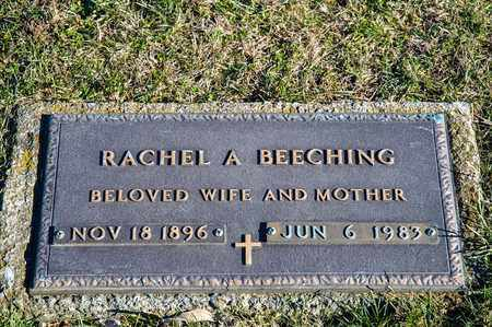 BEECHING, RACHEL A - Richland County, Ohio | RACHEL A BEECHING - Ohio Gravestone Photos