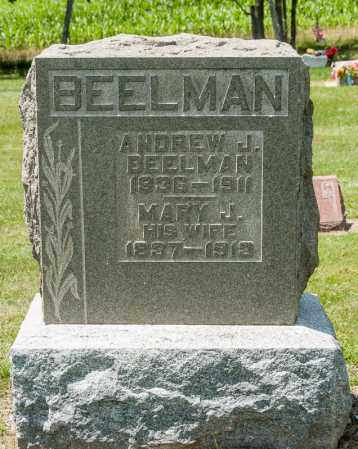BEELMAN, MARY J - Richland County, Ohio | MARY J BEELMAN - Ohio Gravestone Photos