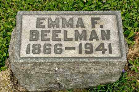 BEELMAN, EMMA F - Richland County, Ohio | EMMA F BEELMAN - Ohio Gravestone Photos