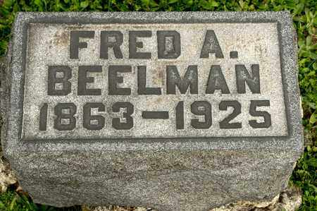BEELMAN, FRED A - Richland County, Ohio | FRED A BEELMAN - Ohio Gravestone Photos