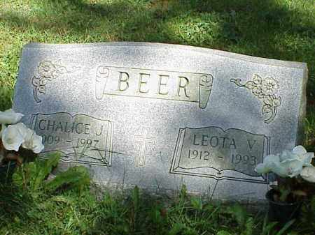 BEER, CHALICE J. - Richland County, Ohio | CHALICE J. BEER - Ohio Gravestone Photos