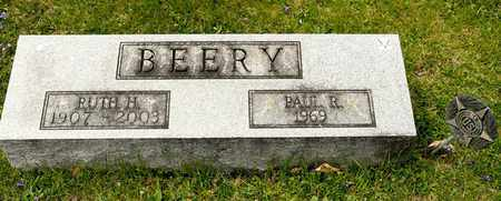 BEERY, PAUL R - Richland County, Ohio | PAUL R BEERY - Ohio Gravestone Photos
