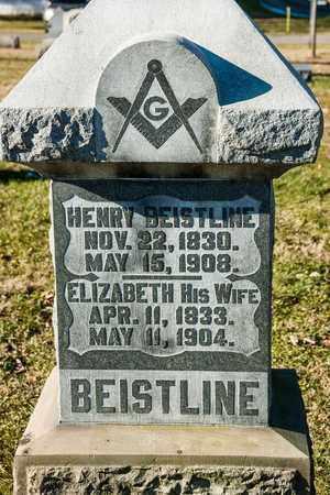BEISTLINE, ELIZABETH - Richland County, Ohio | ELIZABETH BEISTLINE - Ohio Gravestone Photos