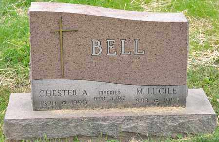 BELL, CHESTER A - Richland County, Ohio | CHESTER A BELL - Ohio Gravestone Photos