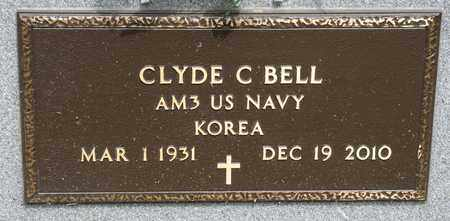 BELL, CLYDE C - Richland County, Ohio | CLYDE C BELL - Ohio Gravestone Photos