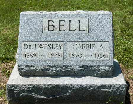 BELL, CARRIE A - Richland County, Ohio | CARRIE A BELL - Ohio Gravestone Photos