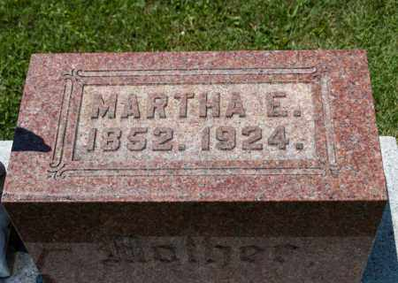 BELL, MARTHA E - Richland County, Ohio | MARTHA E BELL - Ohio Gravestone Photos
