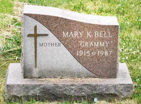 BELL, MARY K - Richland County, Ohio | MARY K BELL - Ohio Gravestone Photos