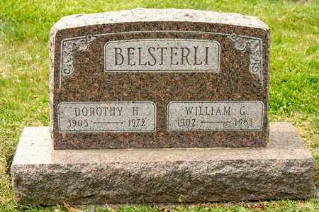 BELSTERLI, WILLIAM G - Richland County, Ohio | WILLIAM G BELSTERLI - Ohio Gravestone Photos