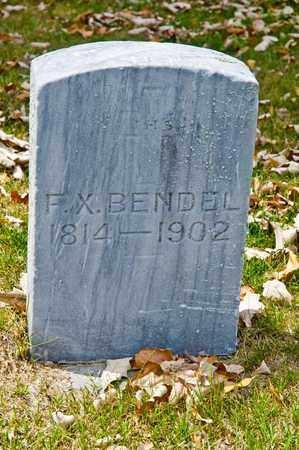 BENDEL, F X - Richland County, Ohio | F X BENDEL - Ohio Gravestone Photos