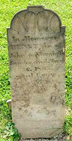 BENDER, HENRY - Richland County, Ohio   HENRY BENDER - Ohio Gravestone Photos