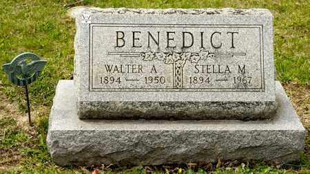 BENEDICT, WALTER A - Richland County, Ohio | WALTER A BENEDICT - Ohio Gravestone Photos