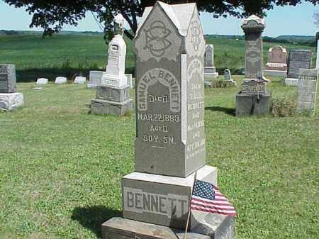 BENNETT, WILSON S. - Richland County, Ohio | WILSON S. BENNETT - Ohio Gravestone Photos