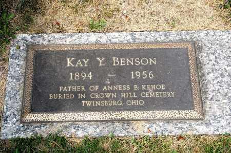 BENSON, KAY Y - Richland County, Ohio | KAY Y BENSON - Ohio Gravestone Photos