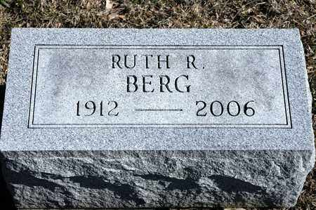 BERG, RUTH R - Richland County, Ohio | RUTH R BERG - Ohio Gravestone Photos