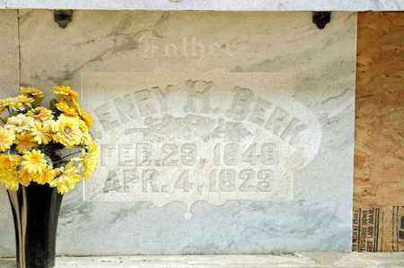 BERK, HENRY H - Richland County, Ohio | HENRY H BERK - Ohio Gravestone Photos