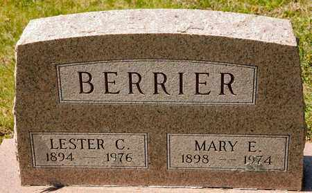 BERRIER, MARY E - Richland County, Ohio | MARY E BERRIER - Ohio Gravestone Photos