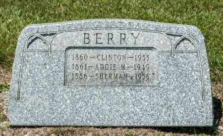 BERRY, SHERMAN - Richland County, Ohio | SHERMAN BERRY - Ohio Gravestone Photos