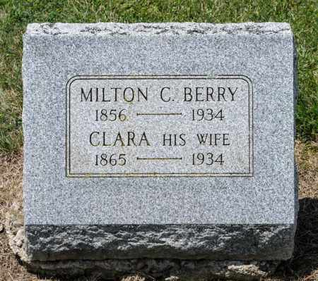 MCCLAIN BERRY, CLARA - Richland County, Ohio | CLARA MCCLAIN BERRY - Ohio Gravestone Photos