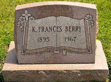 BERRY, K FRANCES - Richland County, Ohio | K FRANCES BERRY - Ohio Gravestone Photos